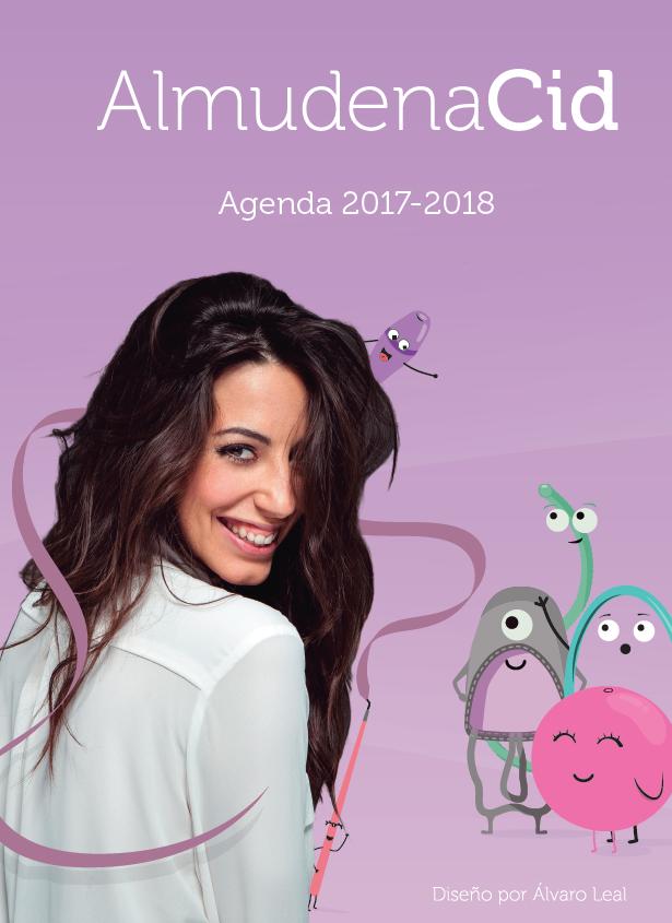 La agenda para gimnastas 2017/2018