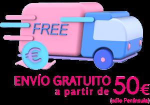 Envío gratuito pedidos a partir de 50€